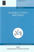 COVER Business, ethics and peace